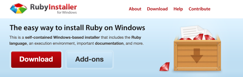 RubyInstallerforWindows